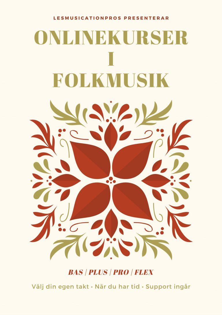 Onlinekurser i folkmusik