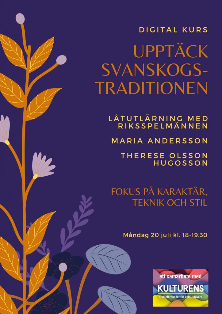 digital kurs om Svanskogstraditionen